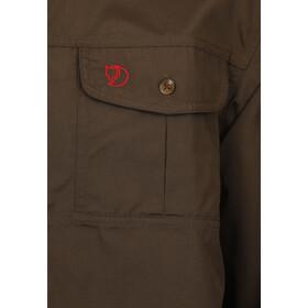Fjällräven Sarek Trekking T-shirt manches longues Homme, dark olive